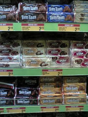 timtam沢山の種類