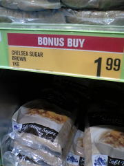 1kg$1.99の砂糖