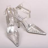 hight-heel silver