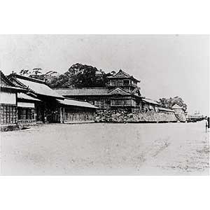 徳島城古写真