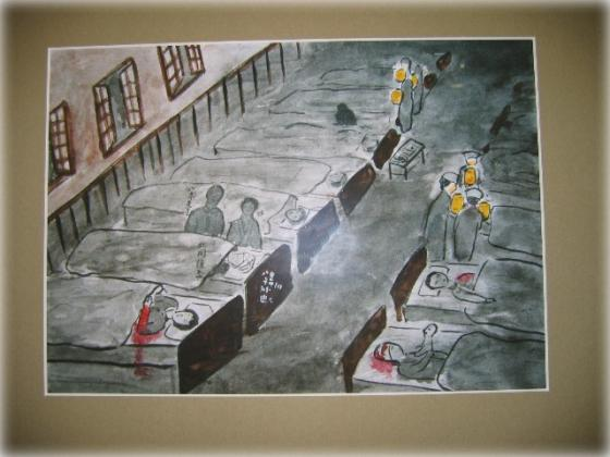 漆黒の病室