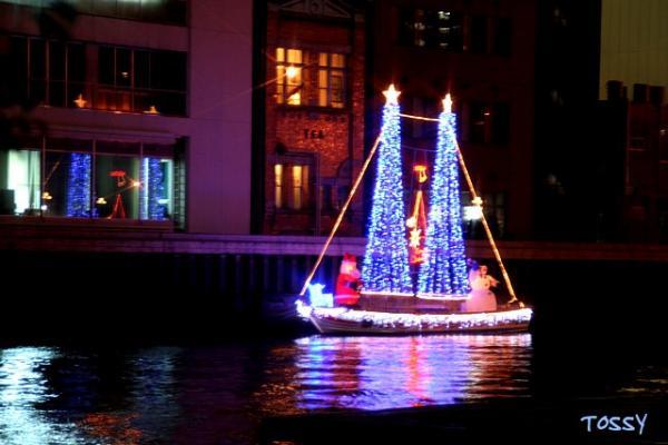 クリスマス帆船