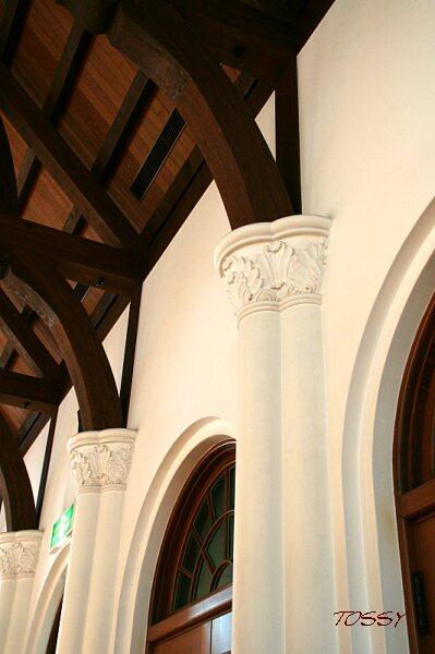柱頭の飾り