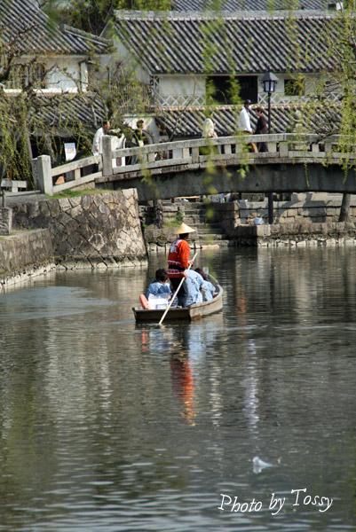 倉敷川舟流し