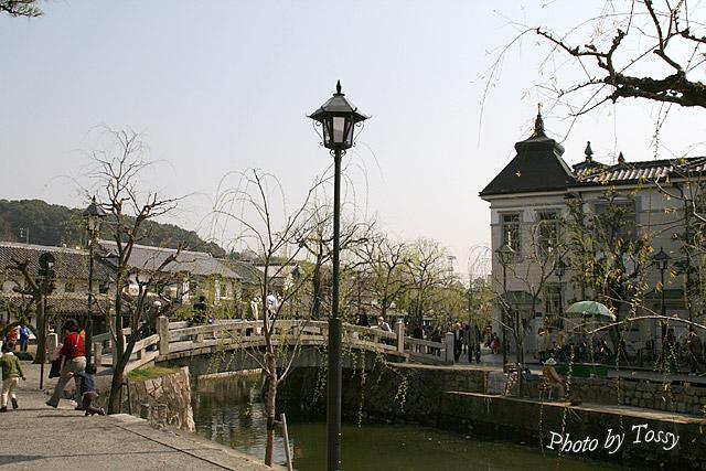 中橋と倉敷館