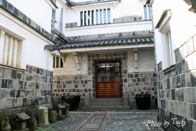 倉敷民芸館中庭