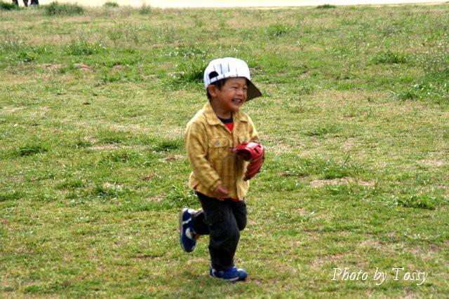 武庫川左岸 尼崎側 子供