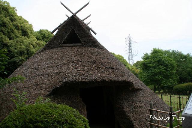 円形竪穴住居1