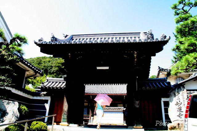 妙道寺山門