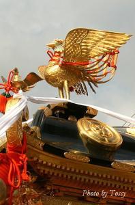 お神輿の鳳凰2