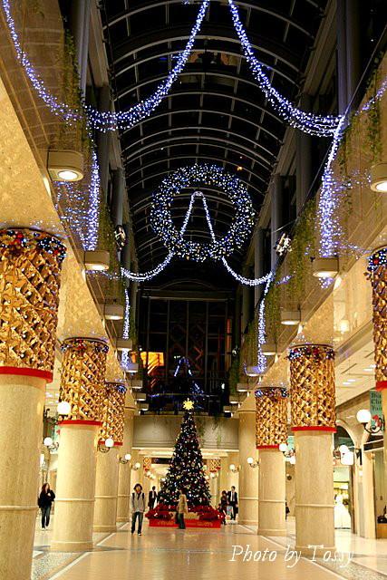 地下街のクリスマス