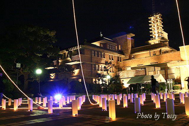 旧甲子園ホテル ライトアップ2