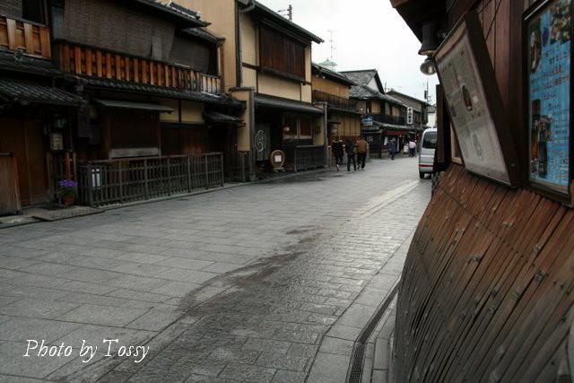 祇園の町並み