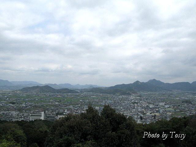本宮からの眺め