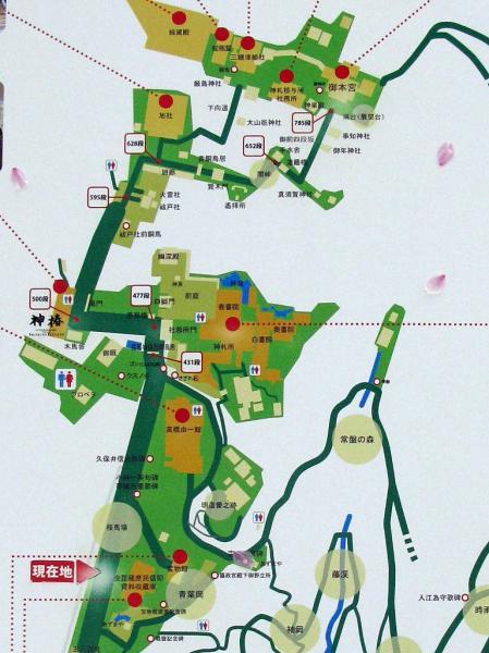 参道MAP