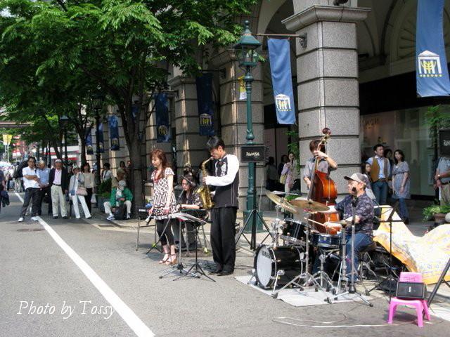 大丸前 jazz live2