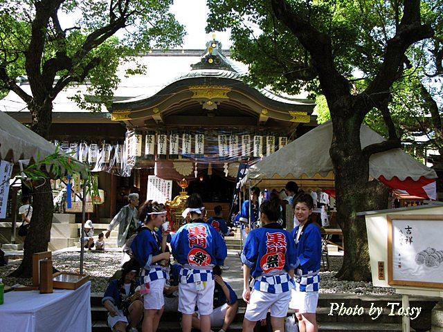 高津神社の夏祭り