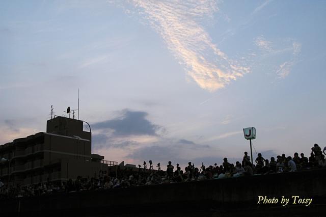6時半の西の空