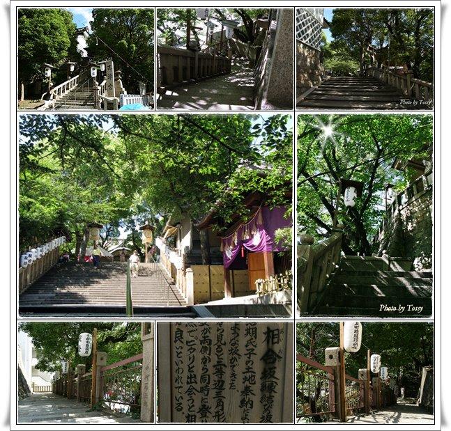 高津神社の石段