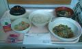 病院夕食 タンパクが少ない(肝臓食B)