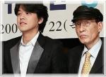 お父様とシウォン君
