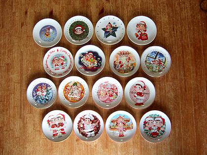 1994~2009年、ペコちゃんのクリスマスコレクション