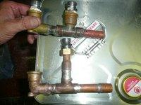 給湯管漏水修繕 加古川市