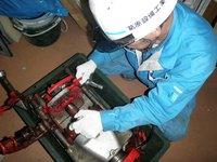 受水槽FMバルブ取り替え工事 神戸市須磨区