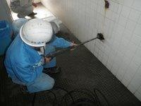 小便器の尿石詰まり改善 神戸市長田区