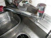 キッチン水栓の取替え 神戸市兵庫区