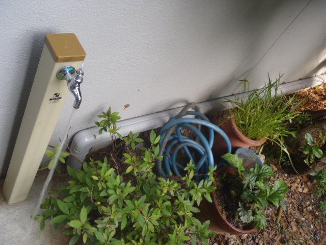 住宅の水道更新工事