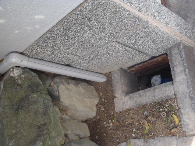 水道の更新工事