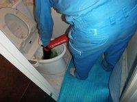 マンションのトイレ詰まり修繕 神戸市中央区