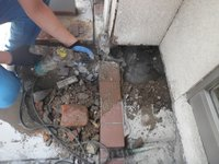 給水管水漏れ修繕 神戸市中央区
