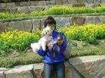 お花とママと