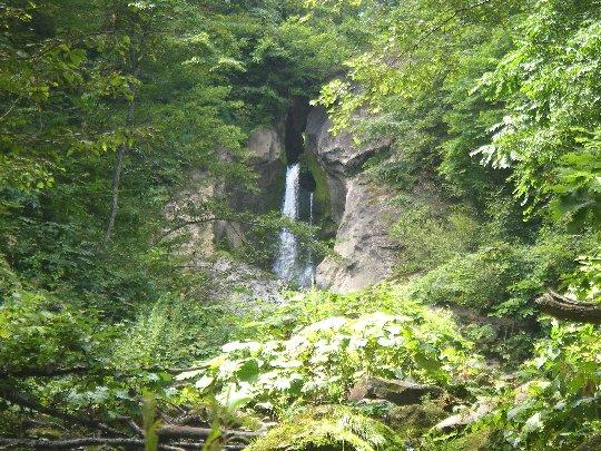 月見沢の滝