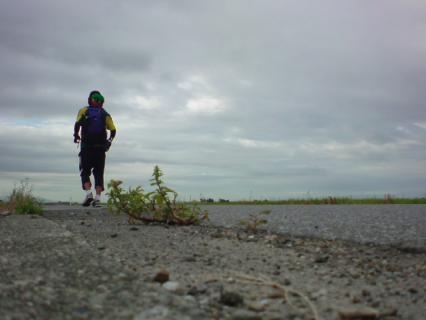 running_alone