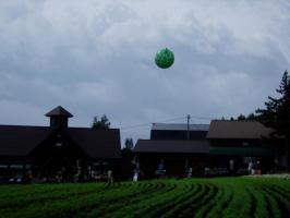 メロンの風船