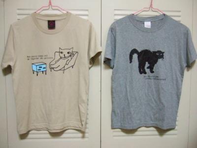 BleuBleunetの猫Tシャツ
