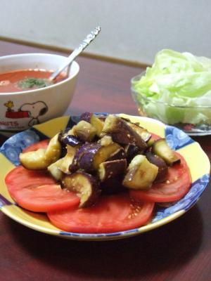 なすとトマトの冷製サラダ DSお料理ナビ