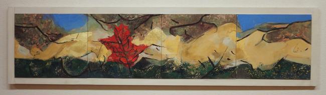 谷内春子「樹と人 -garden」