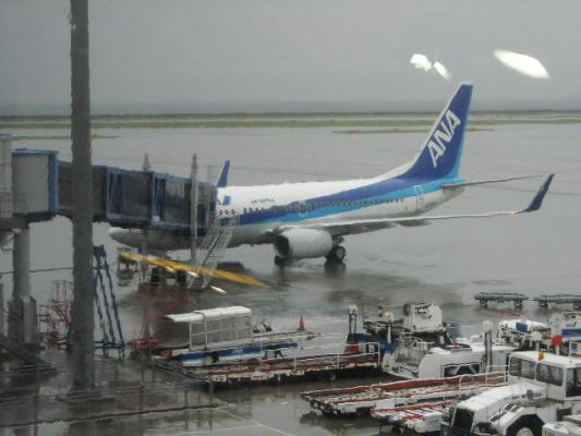 旭川への搭乗機