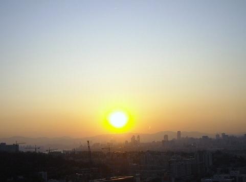 韓国の朝陽
