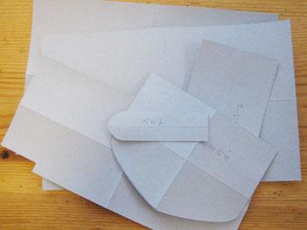 財布の型紙