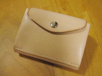 カードケース付き財布裏