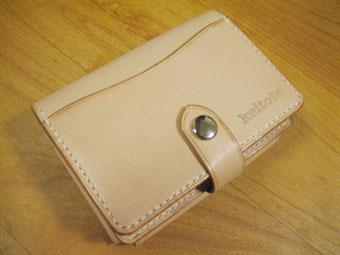 カードケース付き財布表