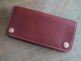 手縫の長財布