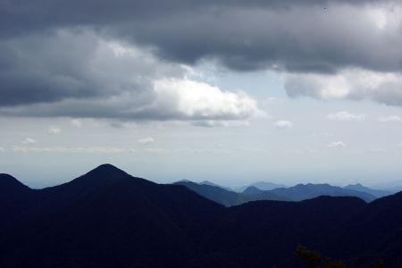 雲が多い・・・