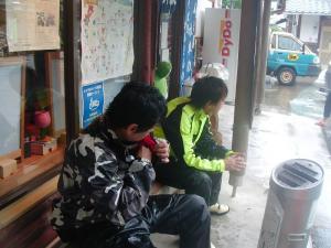 雨の阿蔵林道3