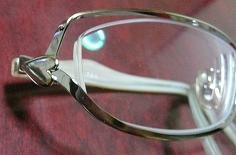 4つ目のメガネの横♪